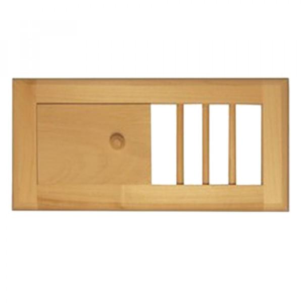 Вентиляционная решетка с задвижкой РВ-М