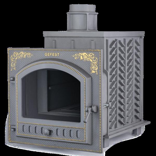 Чугунная печь Гефест (ПБ-02П)