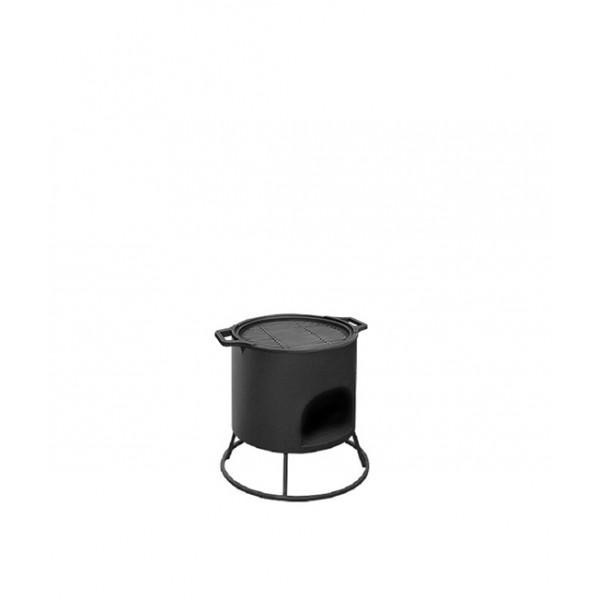 Решетка гриль чугунная Везувий Ø 380мм