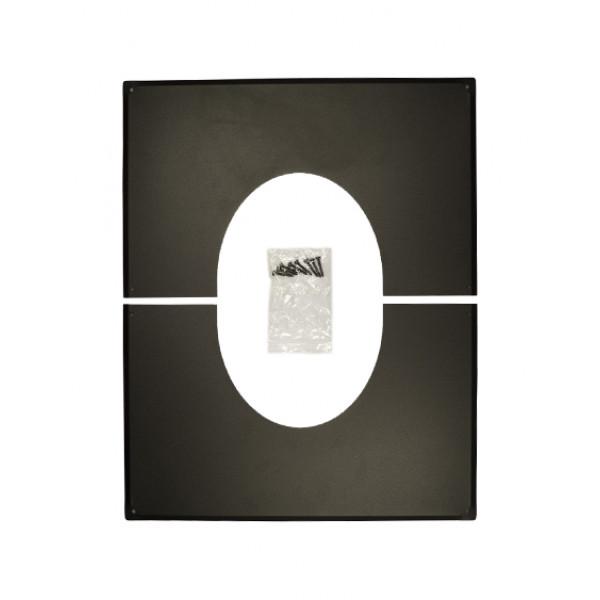 Декоративная пластина 35°-45° D130 Permeter 25 (Schiedel)