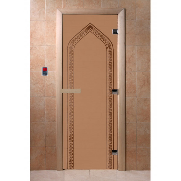 Дверь Арка бронза матовая