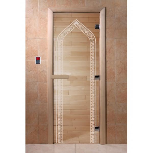 Дверь Арка прозрачная