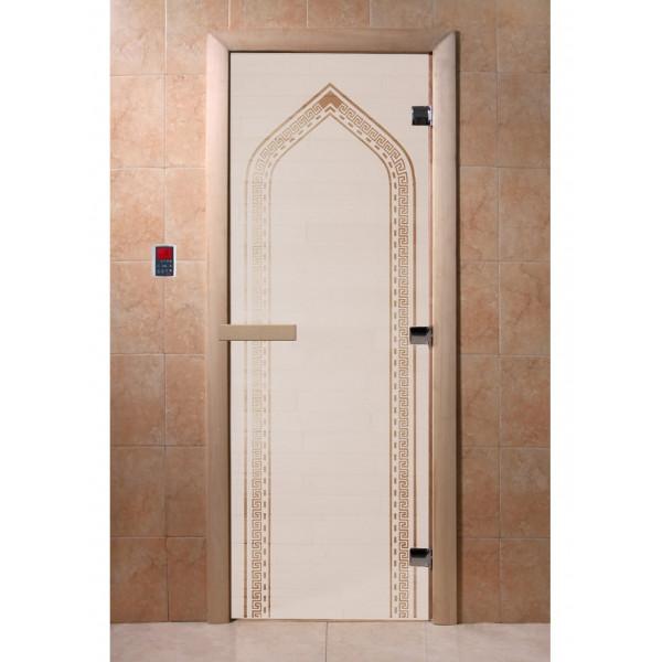 Дверь Арка сатин