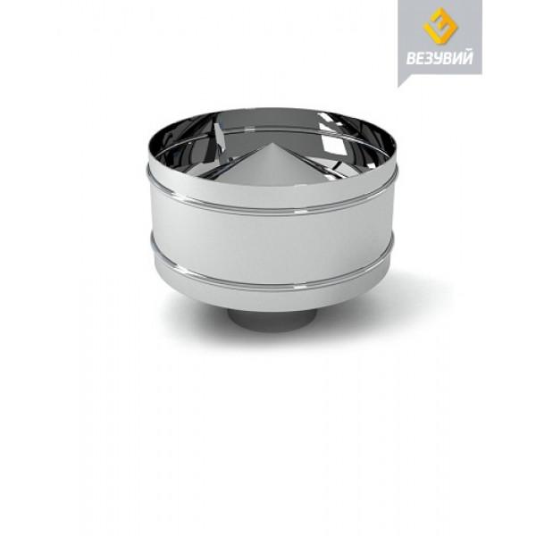 Дефлектор нерж. (AISI 430/0,5мм) д.150х250 (Везувий)
