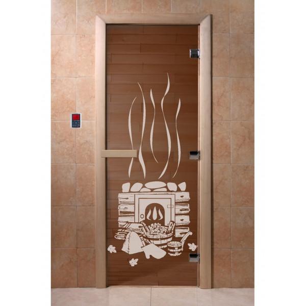 Дверь Банька бронза