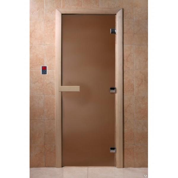 Дверь Теплая Ночь бронза матовая