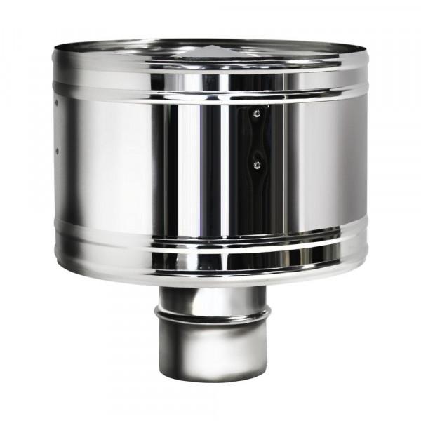 Дефлектор D115 без изоляции, зеркальный (Вулкан)