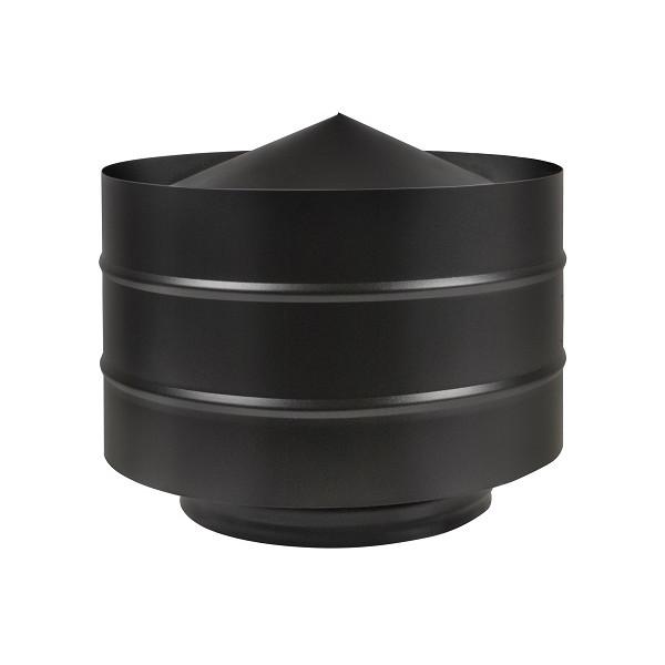 Дефлектор BLACK (AISI 430/0,5мм) D115 (Везувий)