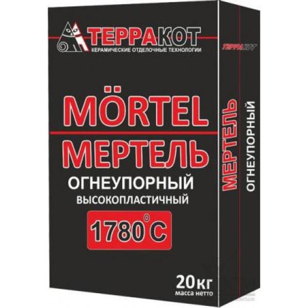 """Мертель огнеупорный высокопластичный """"Терракот"""", 20 кг"""