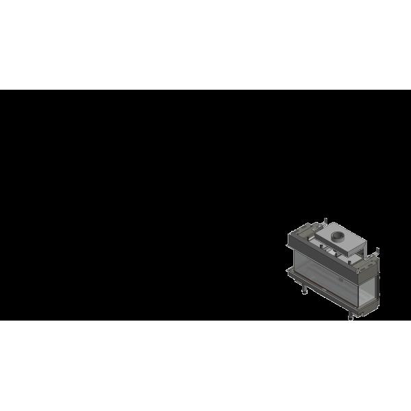 Газовая топка Kratki LEO/LP/100/NG (магистральный газ) (10 кВт)
