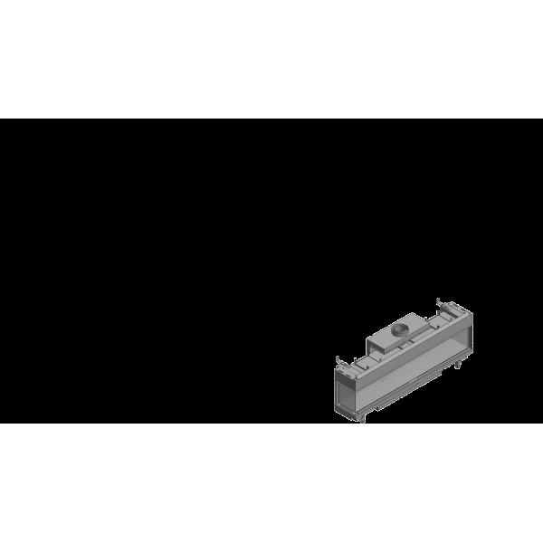 Газовая топка Kratki LEO/L/200/NG (магистральный газ) (17 кВт)