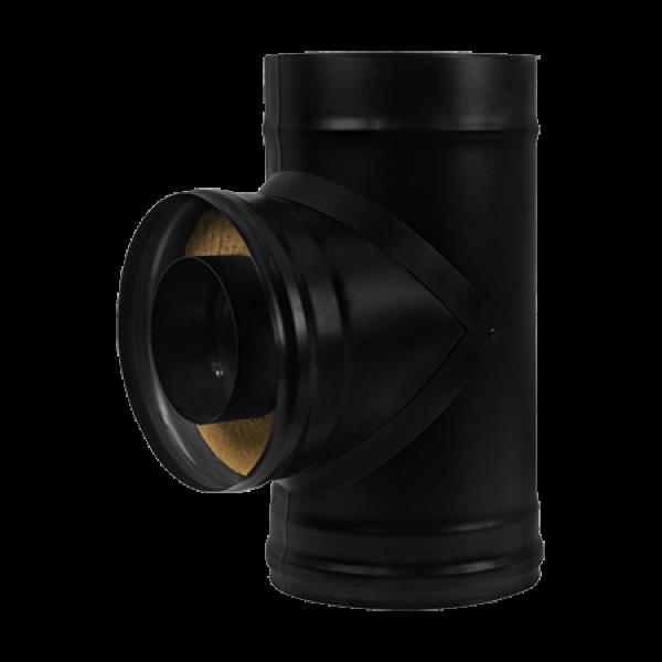 Сэндвич-тройник BLACK (AISI 430/0,8мм) D115 (Везувий)