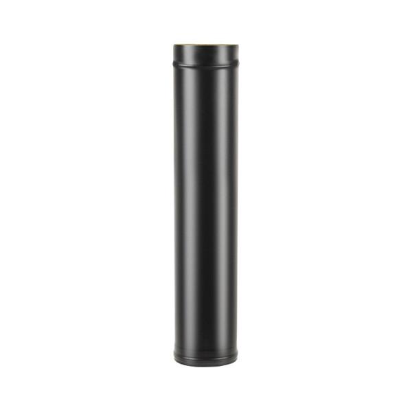 Сэндвич-труба BLACK (AISI 430/0,8мм) L-1м D115 (Везувий)