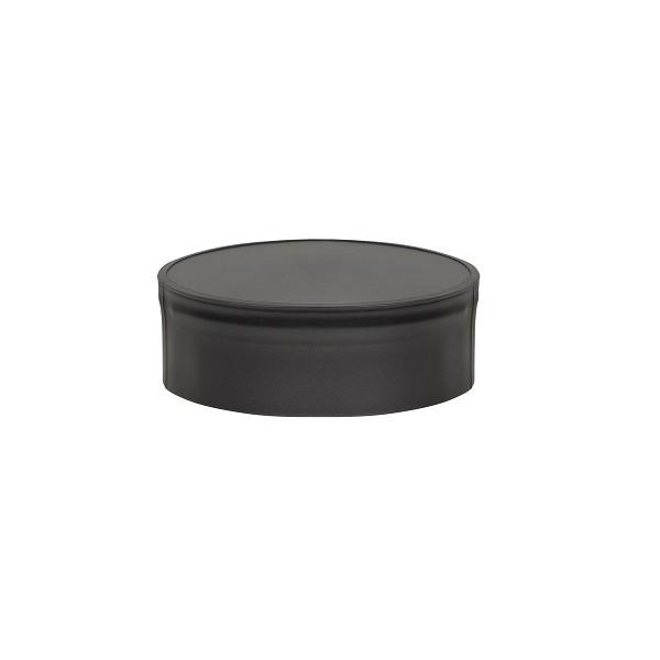 Заглушка BLACK глухая внутренняя (AISI 430/0,5мм) D115 (Везувий)