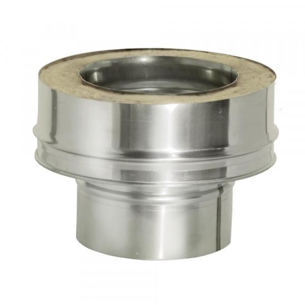 Заглушка нижняя моно-термо с изоляцией D115/200 (ДМК)