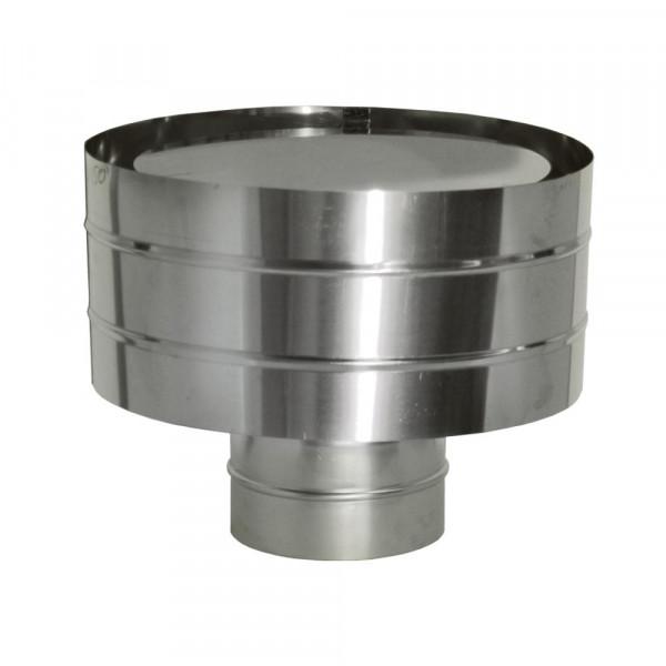 Зонт ветрозащитный на трубу без изоляции D115 (ДМК)