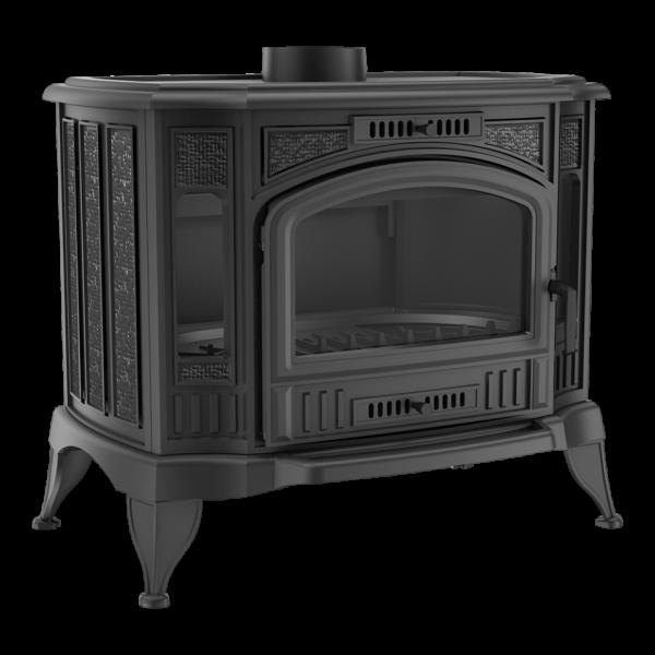 Печь-камин Kratki KOZA/K9 с теплообменником