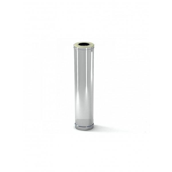 Дымоход УМК Сэндвич-труба, 0,5м, 115х200, Н+Н, 0,5мм 0,5мм, по воде (УМК)